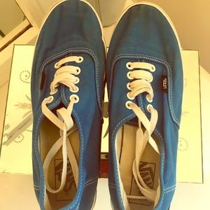 Vans men sz 8 turquoise men sneakers skater shoes